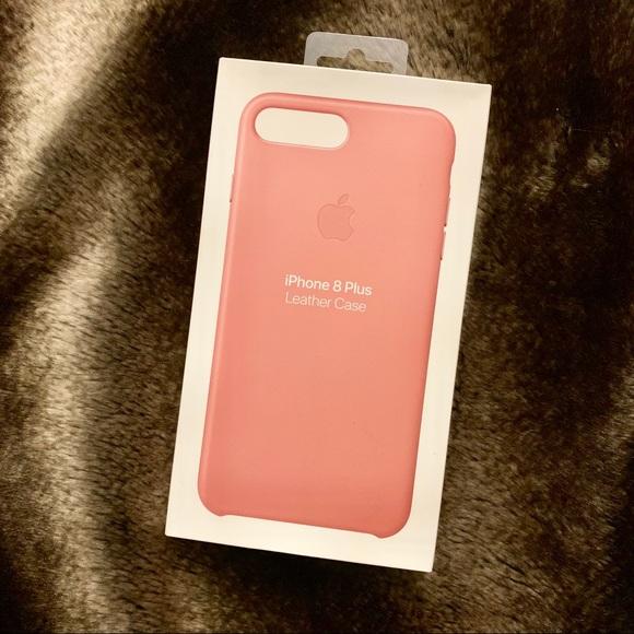501b2251fe73 Apple Accessories - Apple iPhone 8 Plus 7 Plus Leather Case Soft Pink